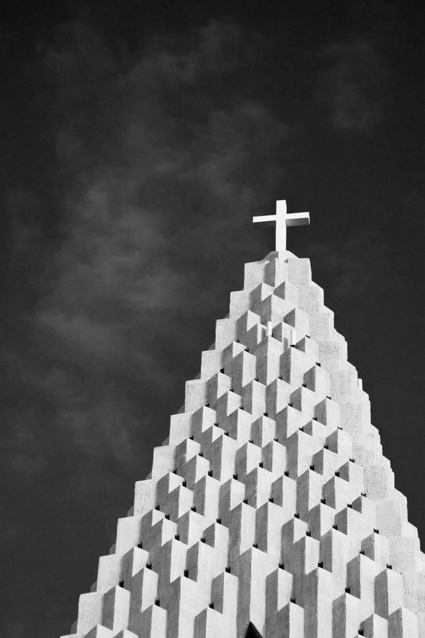 Reykjavik Cathedral mjghollnd photography