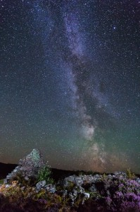 Ruin Milkyway mjgholland photography