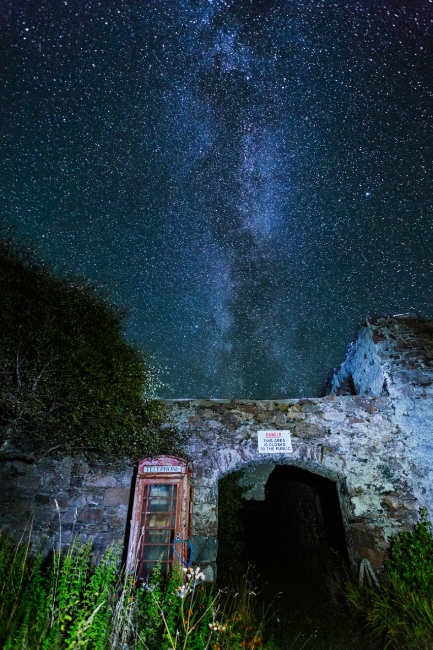 Phonebox Milkyway mjgholland photography