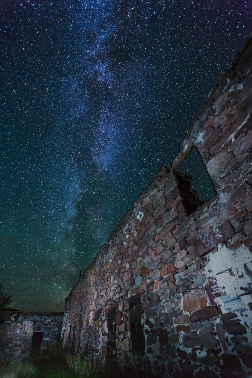 Herring factory Milkyway mjgholland photography