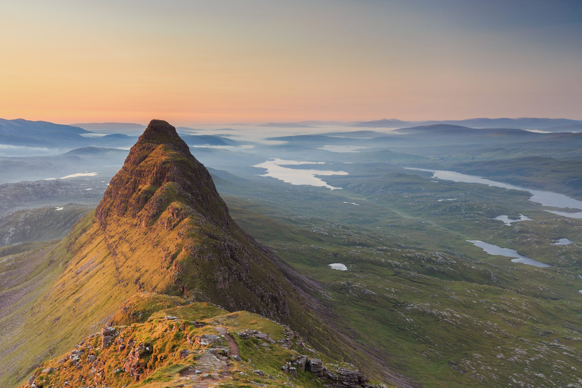 Suilven at sunrise