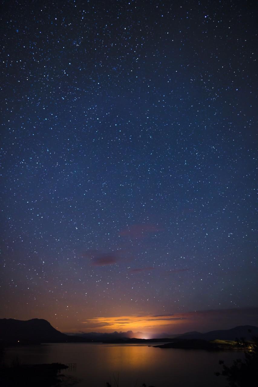 Tanera Stars over Ullapool